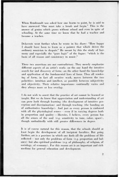 #2 No. 2, 11.1944 Josef Albers Black Mountain College Bulletin. Courtesy of Western Regional Archives