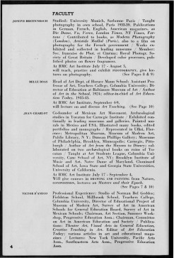 #4 Vol. II, No. 6 - 04.1944 Black Mountain College Bulletin. Courtesy of Western Regional Archives.