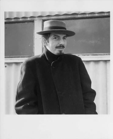 Robert Creeley at Black Mountain College, ca. 1955. Photo by Jonathan Williams, Courtesy Western Regional Archives