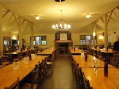 Dining Hall, Lake Eden Campus, Black Mountain College near Asheville North Carolina. Photo: Matilda Felix, 2014.