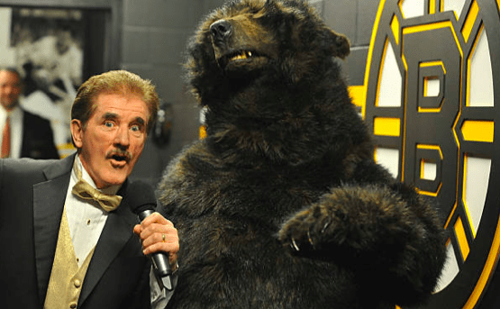 Rene Rancourt Bruins Bear