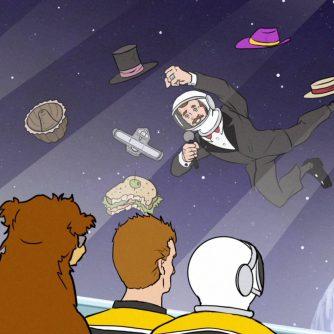 Rene Rancourt in Space