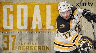 Bergeron Goal