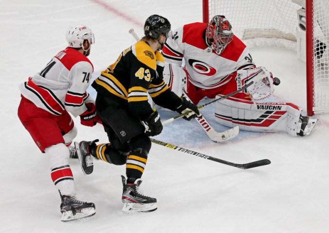 Bruins vs Hurricanes
