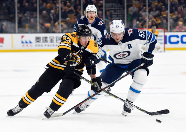 Image result for boston bruins vs winnipeg jets""