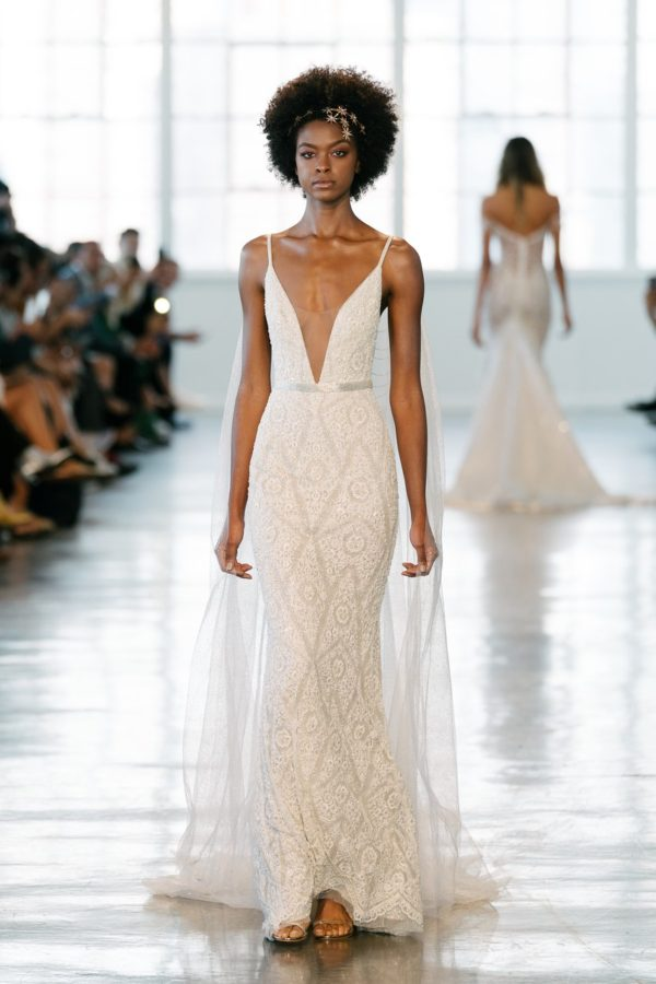 Berta Bridal Fall 2018 Black Nuptials