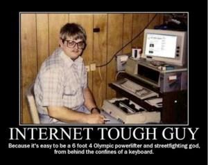 Internet-tough-guy-troll