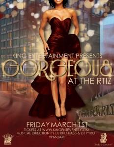KING ENTERTAINMENT -Gorgeous at The Ritz