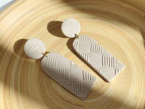 black-owned handmade polymer clay earrings business courage & clayblack-owned handmade polymer clay earrings business courage & clay