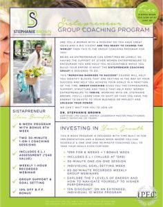 black-owned business Stephanie Brown Coaching LLC