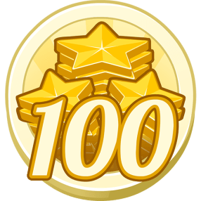 100 Treasure Points