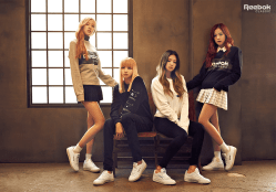BLACKPINK For Reebok Club C