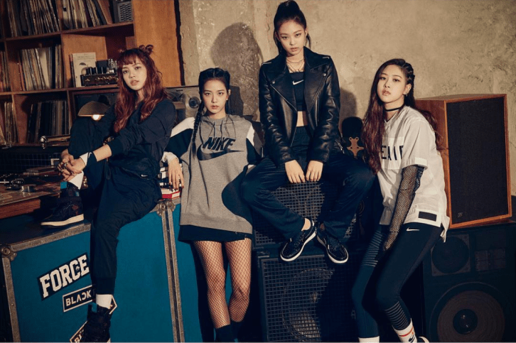 BLACKPINK For Vogue Korea x Nike