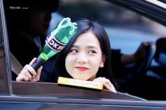 Blackpink Jisoo Car Photos Inkigayo