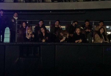Blackpink at Big Bang Concert