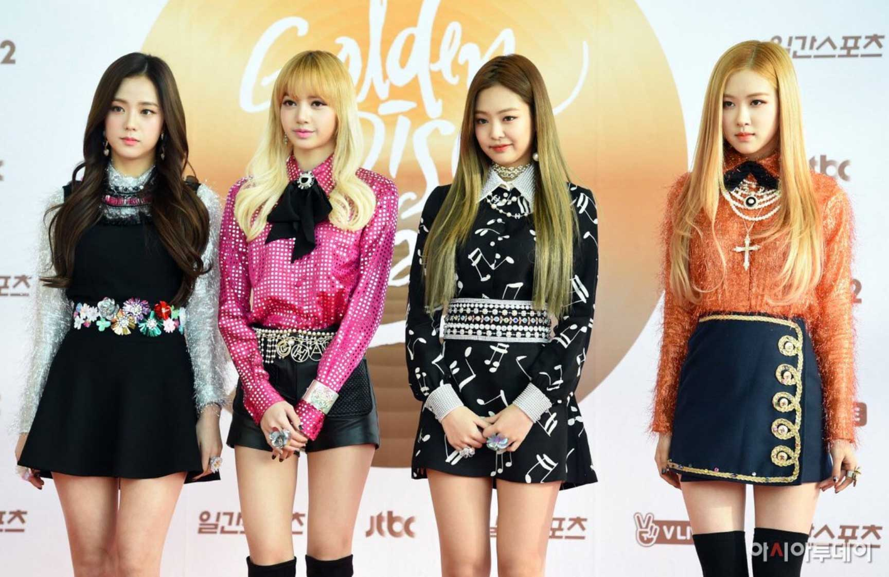Blackpink-Golden-Disc-Awards Red Carpet