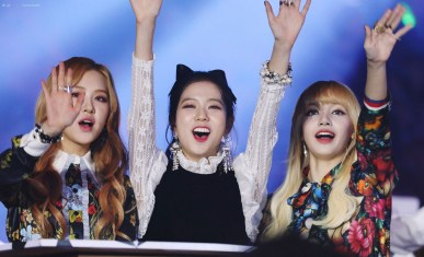 Blackpink-Jisoo-Rose-Lisa-SBS-Gayo-Daejun-2016