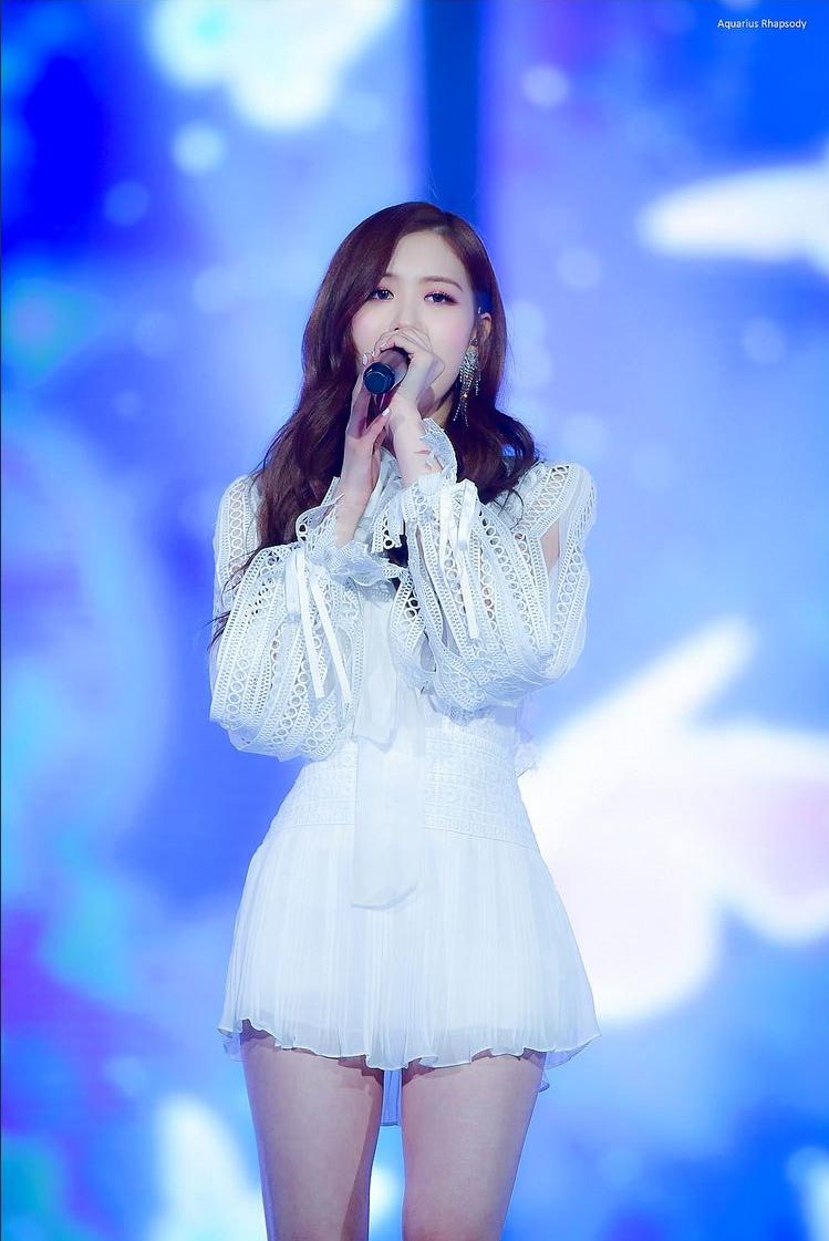 Blackpink Rose Special Stage Sbs Gayo Daejun 2017 3