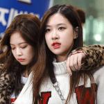 Blackpink Jennie Rose Incheon Airport photo