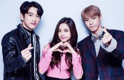 Blackpink Jisoo Jinyoung Doyoung MC SBS Inkigayo