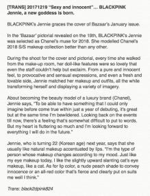 Blackpink Jennie Harpers Bazaar
