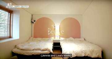 Blackpink House Jennie Lisa room