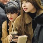 Blackpink Jisoo and Lisa Airport Fashion