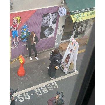 Blackpink Lisa Chaeng hongdae
