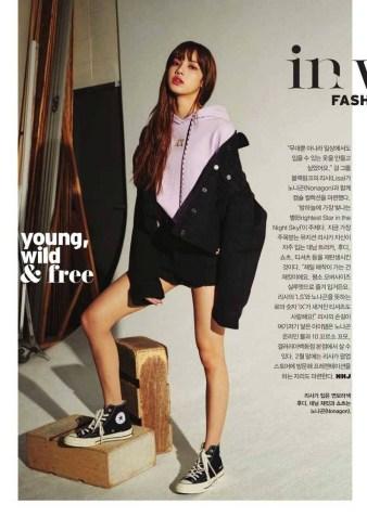 Blackpink Lisa Vogue Korea 2018