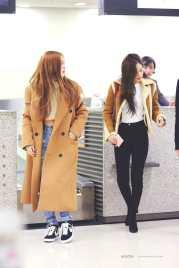 Blackpink Rose Jennie Airport Fashion
