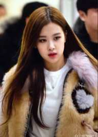 Blackpink Rose Winter Fashion Airport