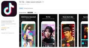 Tik Tok App iTunes