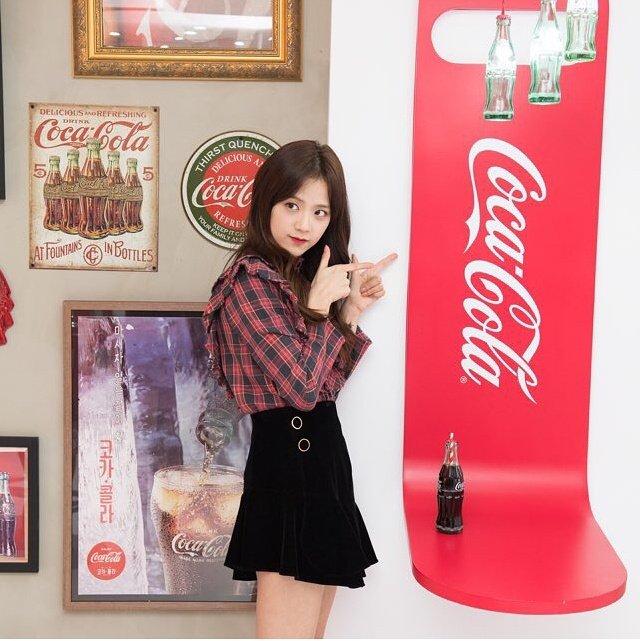Blackpink Jisoo Coca Cola Coke Play 2018