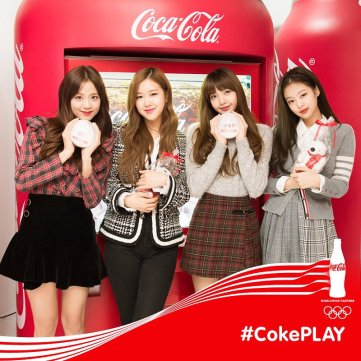 Blackpink Coca Cola Coke Play 2018