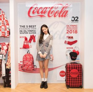 Blackpink Jennie Coca Cola Coke Play 2018