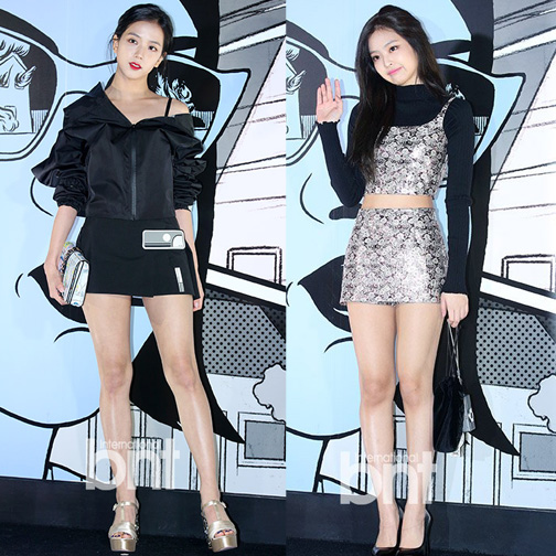 Blackpink Jisoo Jennie Prada Event 2018