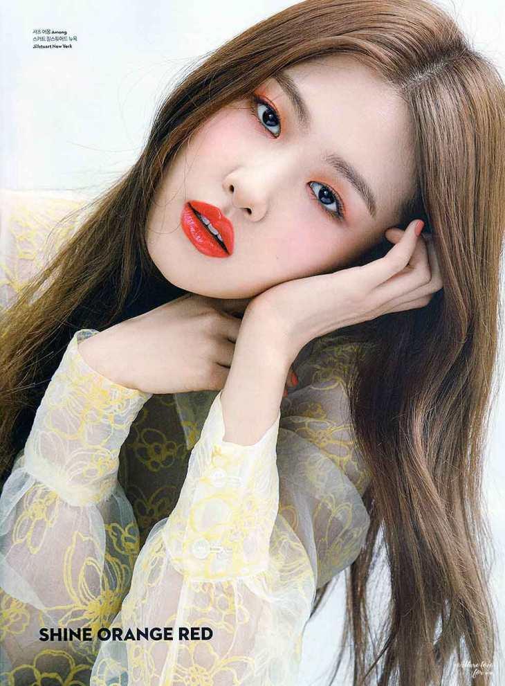 Scanned Blackpink Rose Ceci Korea Magazine March 2018