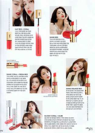 Scanned Blackpink Jisoo Rose Ceci Korea Magazine March 2018