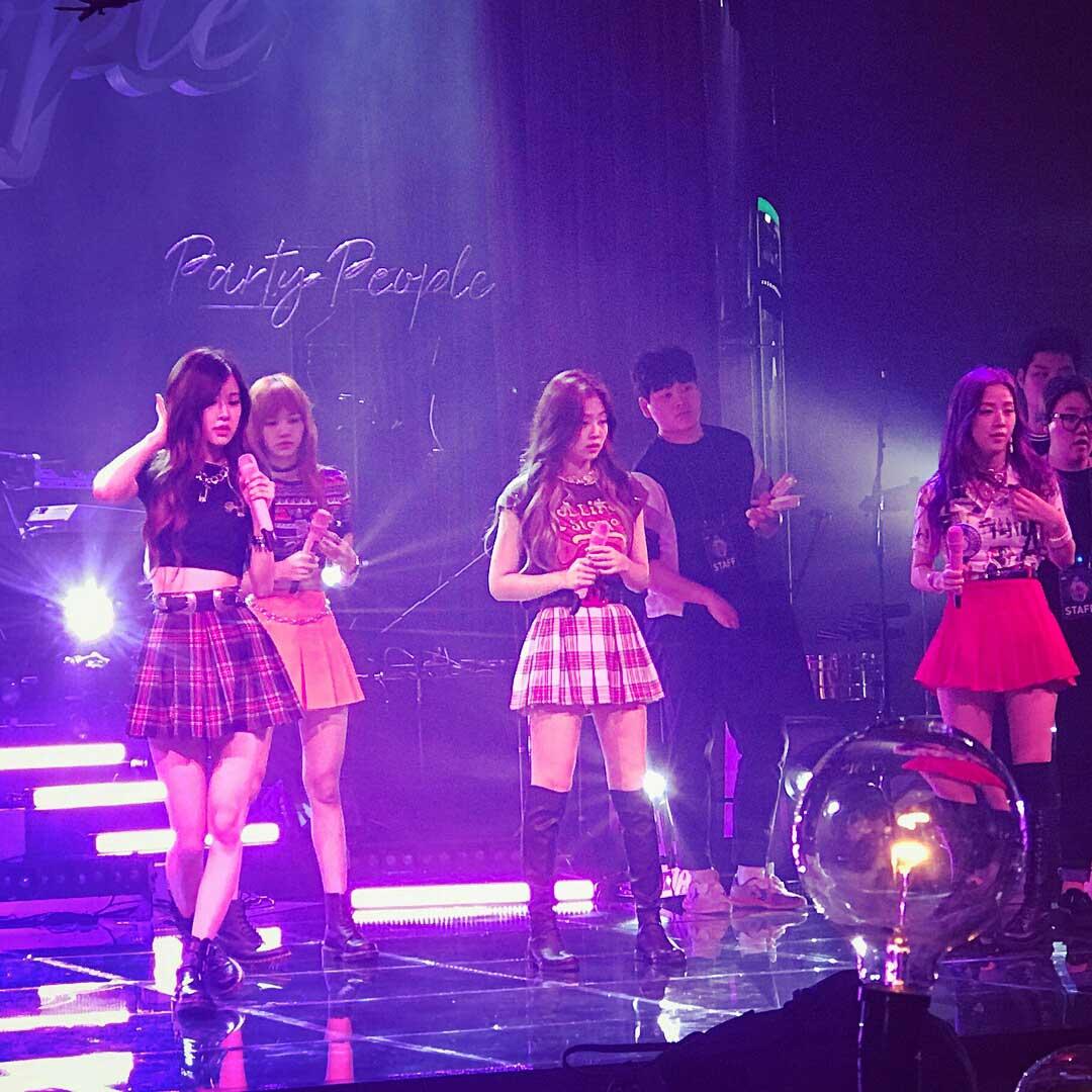 Blackpink JYP Party People 2017