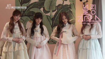 BLACKPINK wearing Hanbok