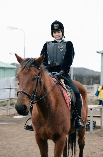 Blackpink House Instagram Jennie Horse Riding Jeju Island