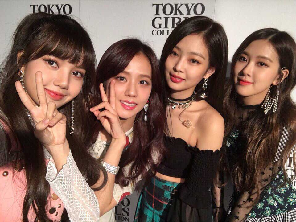 Blackpink Tokyo Girls Collection 2018 Japan