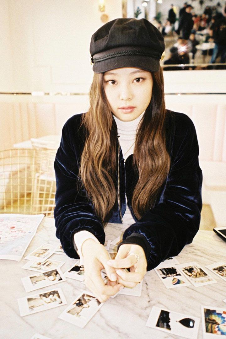 Blackpink Jennie Instagram photo 2018 Jeju Island