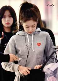 Blackpink Jennie Airport Fashion Jeju 26 March 2018