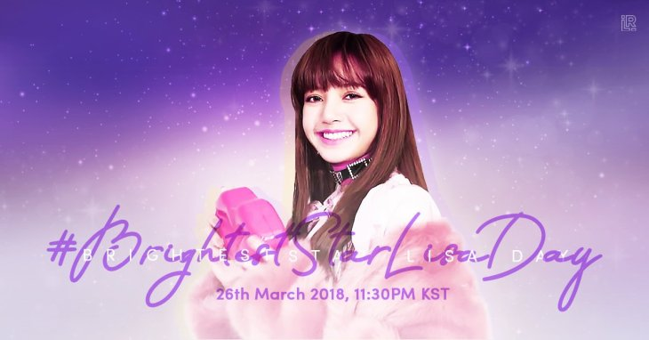 Blackpink Lisa Birthday Twitter Hashtag 2018