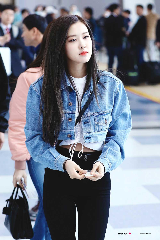 Blackpink Rose Airport Fashion Jeju Island 3
