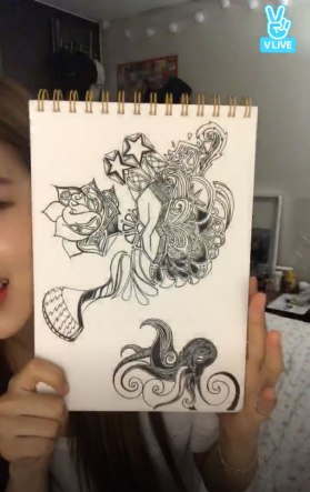 Blackpink Rose Drawing