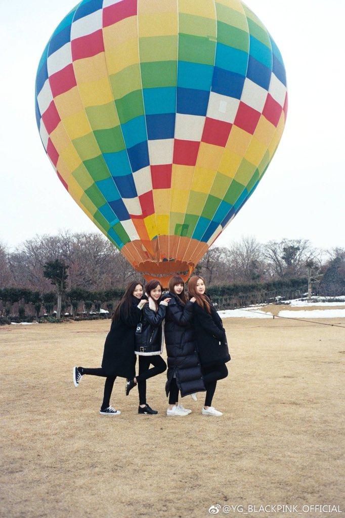 Weibo Blackpink Hot Air Balloon Jeju Island