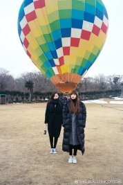 Weibo Blackpink Jennie Lisa Hot Air Balloon Jeju Island