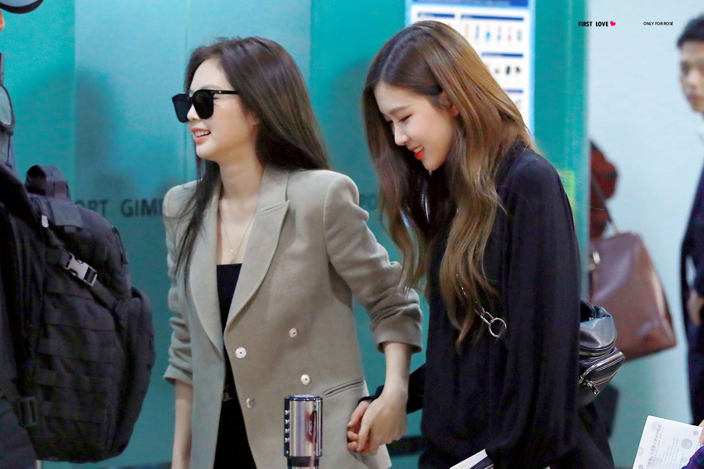Blackpink Jennie Airport Fashion April 20, 2018
